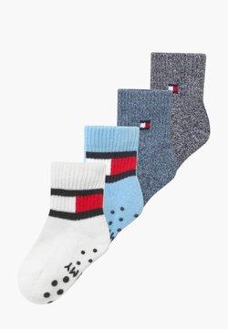 Tommy Hilfiger - FLAG 4 PACK - Socks - blue combo