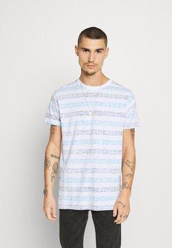 Brave Soul - REEF - T-shirt imprimé - optic white/navy/cyan