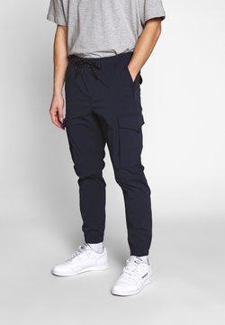 Jack & Jones - JJIGORDON JJFLAKE - Cargo trousers - navy blazer