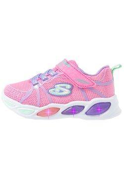 Skechers - SHIMMER BEAMS - Sneaker low - pink sparkle/multicolor
