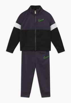 Nike Sportswear - COLOR BLOCK TRICOT BABY SET  - Survêtement - black