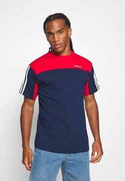 adidas Originals - CLASSICS TEE - T-Shirt print - blue