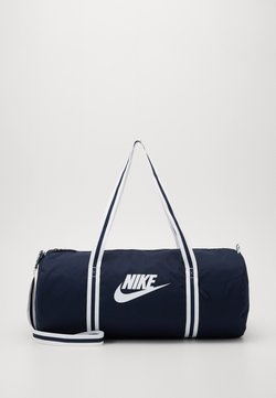 Nike Sportswear - HERITAGE - Sportväska - obsidian/white