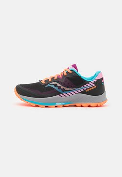Saucony - PEREGRINE 11 - Zapatillas de trail running - future black