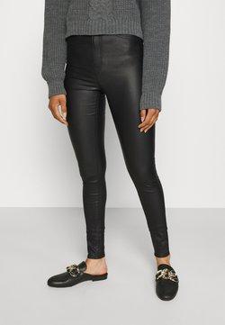 Vero Moda Tall - VMSANDRA COATED  - Broek - black