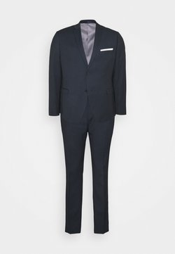 Isaac Dewhirst - BLUE BIRDSEYE SUIT - Costume - dark blue