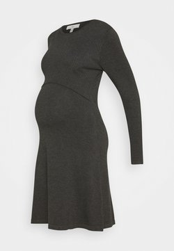 Ripe - NURSING DRESS - Vestido ligero - charcoal marle