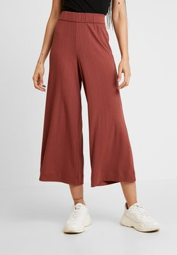 Monki - CILLA TROUSERS - Jogginghose - red medium dusty