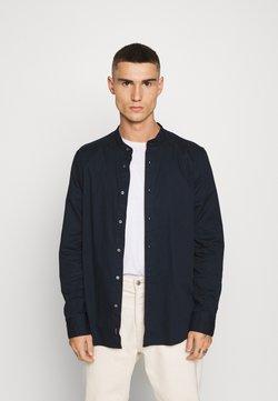 Calvin Klein - STAND COLLAR LIQUID TOUCH - Camisa - blue