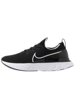 Nike Performance - EPIC PRO REACT FLYKNIT - Hardloopschoenen neutraal - black/white/dark grey
