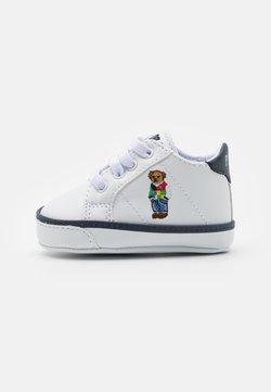 Polo Ralph Lauren - QUILTON BEAR GORE LAYETTE UNISEX - Ensiaskelkengät - white smooth/navy