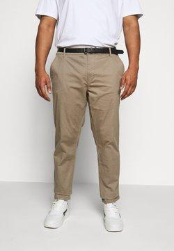 Jack´s Sportswear - STRETCH WITH BELT - Chinot - tan