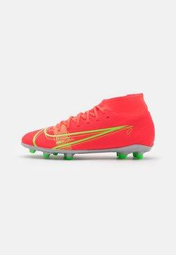 Nike Performance - MERCURIAL 8 CLUB MG - Voetbalschoenen met kunststof noppen - bright crimson/metallic silver