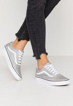 Vans - OLD SKOOL - Zapatillas - silver/true white