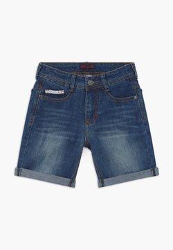 Lemon Beret - TEEN BOYS BERMUDA - Jeansshort - dark blue