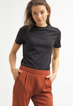 Selected Femme - PERFECT - T-shirts - black