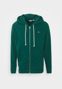 Levi's® - NEW ORIGINAL ZIP UP - veste en sweat zippée - greens