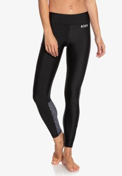 Roxy - ROXY™ SPY GAME - 7/8-FITNESS-LEGGINGS FÜR FRAUEN ERJNP03279 - Tights - true black world wide