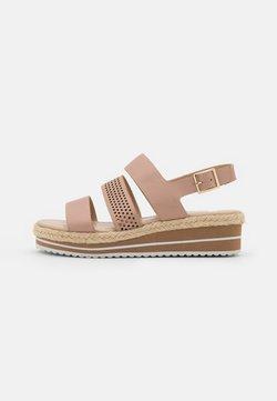 Anna Field - Korkeakorkoiset sandaalit - beige
