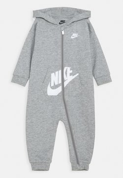 Nike Sportswear - HOODED BABY COVERALL UNISEX - Combinaison - grey heather