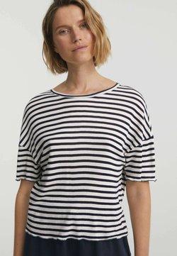 OYSHO - T-Shirt print - dark blue