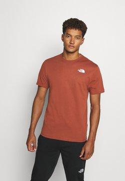The North Face - REDBOX CELEBRATION TEE - Camiseta estampada - brown