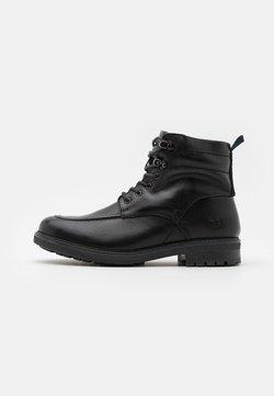 Timberland - OAKROCK WP ZIP BOOT - Schnürstiefelette - black