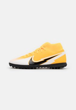 Nike Performance - MERCURIAL 7 CLUB TF - Astro turf trainers - laser orange/black/white