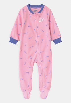 Nike Sportswear - FOOTED COVERALL - Grenouillère - pink
