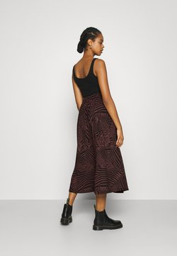 ONLY - ONLZILLE SKIRT - Maxirock - port royale/upscale