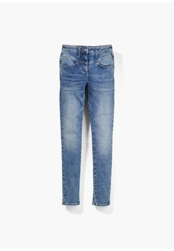 s.Oliver - HIGH WAIST - Slim fit jeans - blue