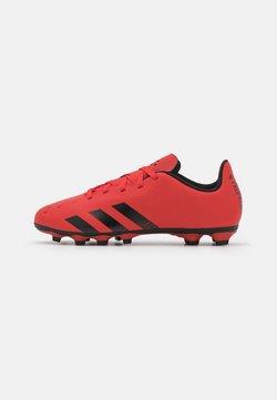 adidas Performance - PREDATOR FREAK .4 FLEXIBLE GROUND UNISEX - Botas de fútbol con tacos - red/core black