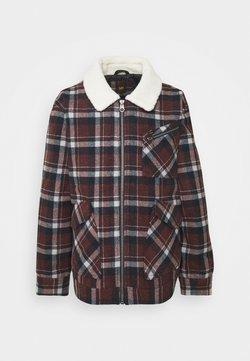 Lee - WOOL JACKET - Light jacket - red ochre