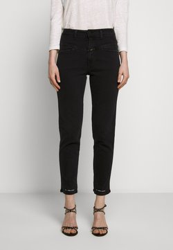 CLOSED - PEDAL PUSHER HIGH WAIST CROPPED LENGTH - Jeans baggy - black