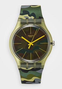 Swatch - CAMOUCLOUDS - Montre - green