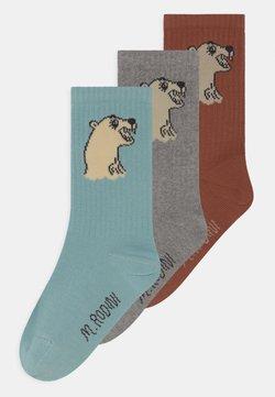 Mini Rodini - POLAR BEAR 3 PACK UNISEX - Calcetines - multi-coloured