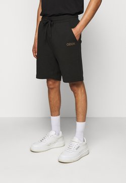 HUGO - DOSHI - Shorts - black/gold