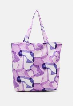 STUDIO ID - TOTE BAG PRINT UNISEX - Shopping bag - lilac