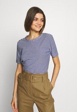 Scotch & Soda - TEE - T-Shirt basic - blue/white