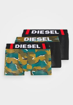 Diesel - UMBX-DAMIEN 3 PACK  - Shorty - black/green