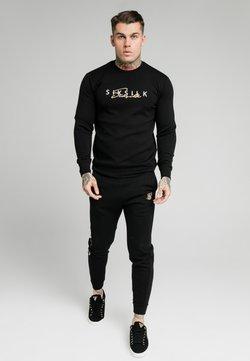 SIKSILK - SIGNATURE TRACK PANTS - Spodnie treningowe - black