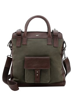 Braun Büffel - MODERN PROSPECTOR  - Shopping Bag - oak leave