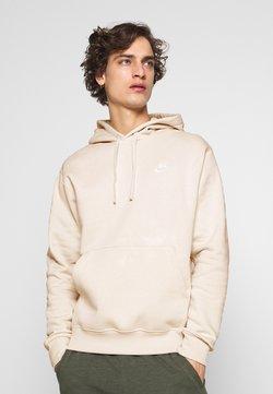 Nike Sportswear - Club Hoodie - Sweat à capuche - light bone/white