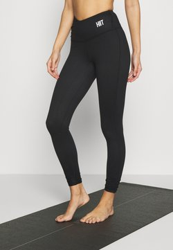 HIIT - ECO SILHOUETTE LEGGING - Tights - black