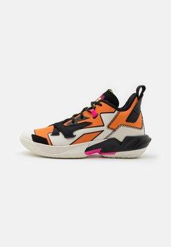 Jordan - WHY NOT ZER0.4 - Chaussures de basket - pale ivory/black/alpha orange/volt/pink blast