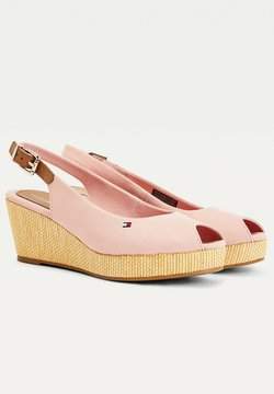 Tommy Hilfiger - ELBA - Sandali con plateau - soothing pink