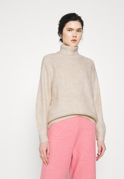 Monki - PARISA - Strickpullover - white dusty