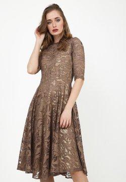 Madam-T - GLORIA - Cocktailkleid/festliches Kleid - braun