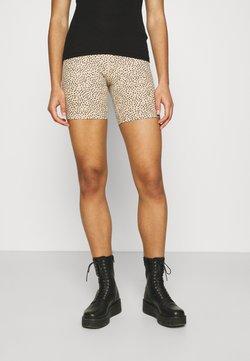 Abercrombie & Fitch - BIKE LIGHT LEOPARD - Shorts - camel