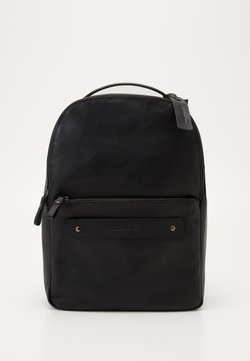 Pier One - UNISEX LEATHER - Reppu - black